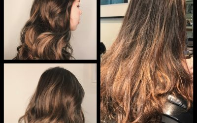 Check out our new hair stylist latest work (Ash Brown Balayage by Mankit)