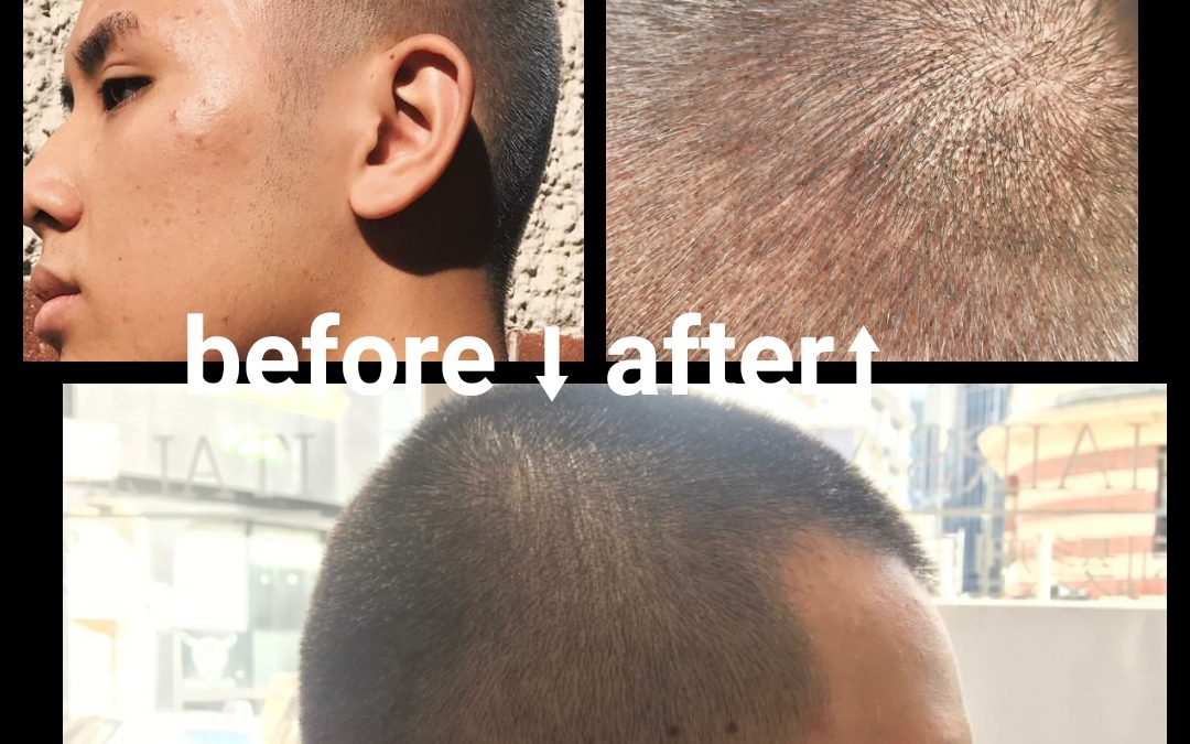 BEFORE & AFTER. Nobody is better than Mankit for a new look or a new style.