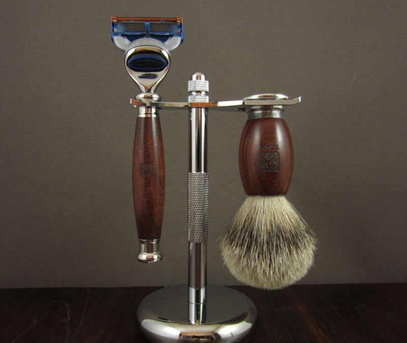 50% off in all shaving sets and razors